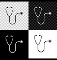 stethoscope medical instrument icon isolated on vector image vector image