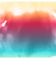 water color cloud vector image vector image
