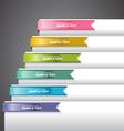 Bookmark Labels Ribbon vector image