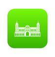 Castle icon digital green