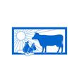 dairy-logo vector image