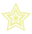 Disco Star vector image vector image