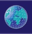 internet concept global business vector image