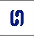 letter h initial h logo design inspiration vector image vector image