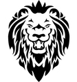Lion tribal tattoo vector image vector image