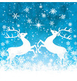 reindeers vector image vector image