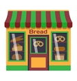 Shop facade vector image