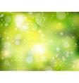 Spring Bokeh background EPS 10 vector image