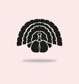 turkey symbol vector image