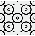 Seamless pattern rounds vector image