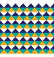 blue and yellow hawaiian tribal seamless pattern vector image vector image