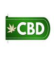 Cbd cannabidiol banner design