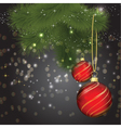 christmas background 1408 vector image vector image