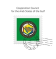 Cooperation Council for the Arab States of the vector image vector image