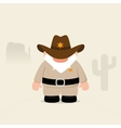 Funny Sheriff vector image