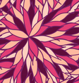 Hand draw seamless pattern of pink and purple vector image