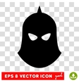 Knight Helmet Eps Icon vector image vector image