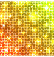 light mosaic disco background vector image