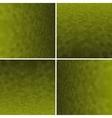 Set Yellow Honeycomb Background vector image vector image