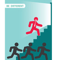 Be different vector image