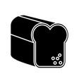 bread icon image vector image