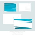 Business identity collection Turquoise tiffany vector image vector image
