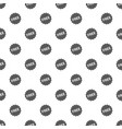 free sign pattern seamless vector image vector image