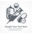 Medication symbols Medical vector image vector image