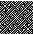 Seamless geometric swastika pattern vector image vector image