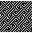 Seamless geometric swastika pattern vector image vector image