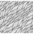 Seamless pattern with hand drawn abstract waves vector image