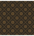Seamless texture with vintage geometric ornament vector image vector image