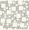 squares of different sizes pattern vector image