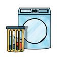 washing machine design vector image