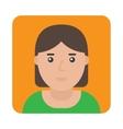 Profile Icon woman vector image