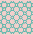 abstract geometric seamless grid pattern vector image vector image