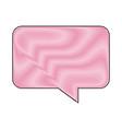 bubble speech talk chat message communication vector image