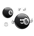 cartoon billiards snooker pool eight ball