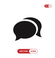 chat speech bubbles icon vector image vector image