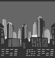 city panorama background vector image