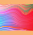 colorful flow poster wave liquid shape vector image vector image