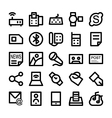 Communication Icons 8 vector image vector image