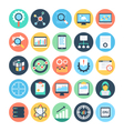 Data Science Icons 1 vector image vector image