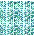 Green dotted and circular seamless pattern vector image vector image