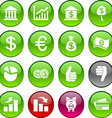 Money icons vector image