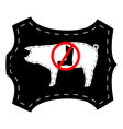 no pigskin boots vector image vector image