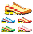Running shoes vector image vector image