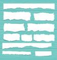 scrap paper vector image vector image