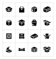 Set icons of box