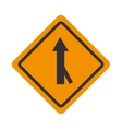 traffic signal road arrow design vector image